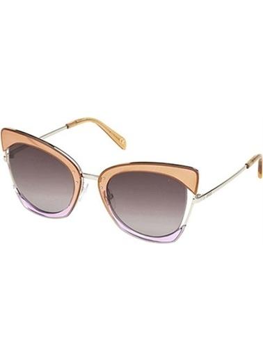 Emilio Pucci  Ep 0074 44T Kadın Güneş Gözlüğü Renkli